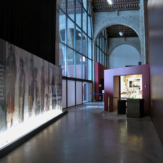 A Day in Pompeii: Maritime Museum of Barcelona
