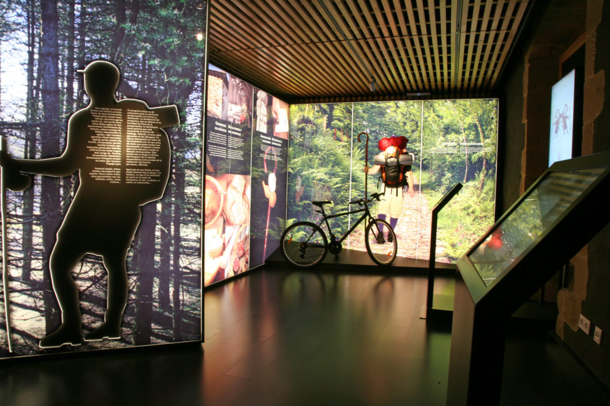 Interpretation Center: The Way Of Santiago by The Basque Country