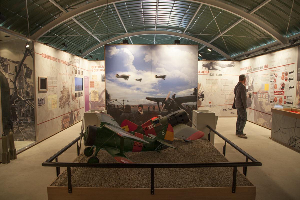 Interpretation Center Of Aviation and Aerial War Republican (1936-1939)