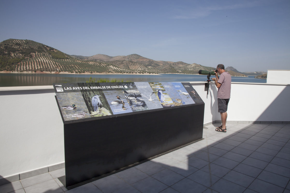 Interpretation Center: Reservoir Of Iznájar